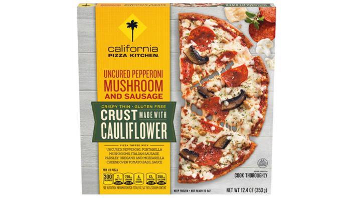 Is California Pizza Kitchen Uncured Pepperoni Cauliflower Crust Pizza Keto Sure Keto The Food Database For Keto