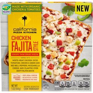 Is California Pizza Kitchen Chicken Fajita Style Pizza Keto Sure Keto The Food Database For Keto